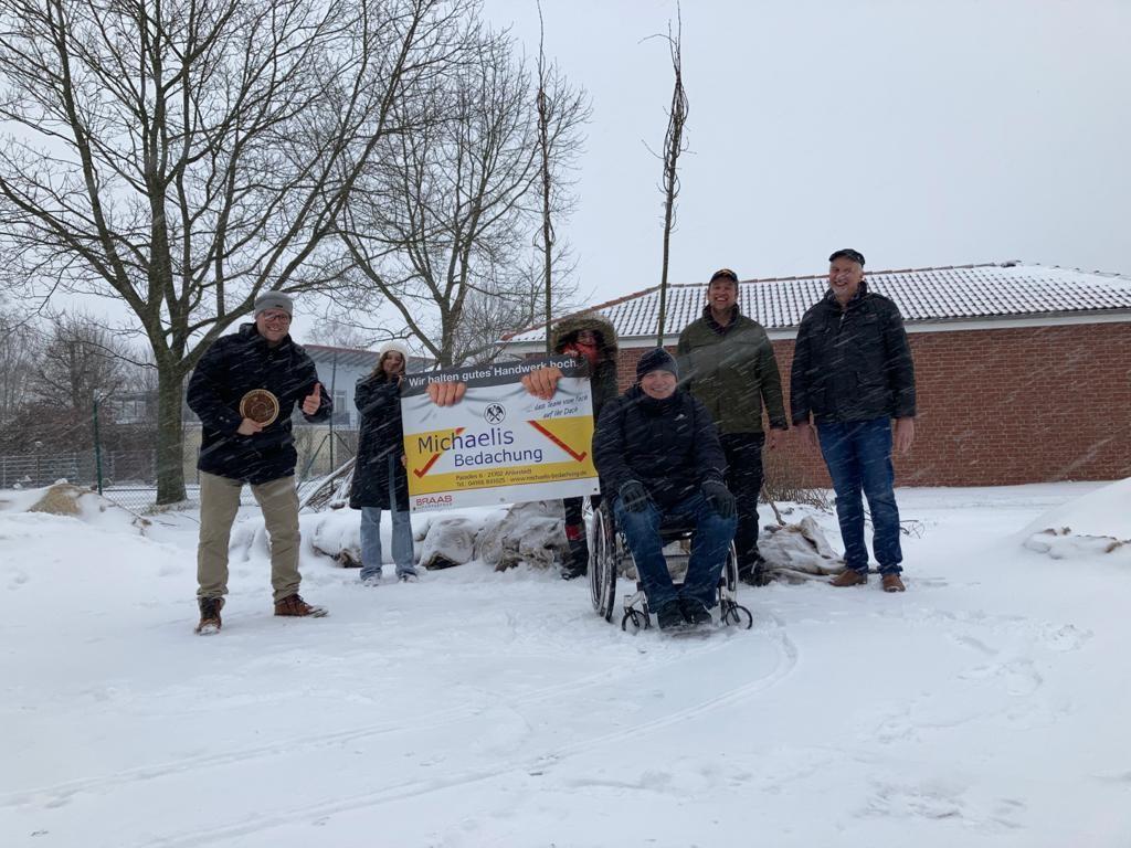 15 Lindenbäume für die Gemeinde Ahlerstedt!!