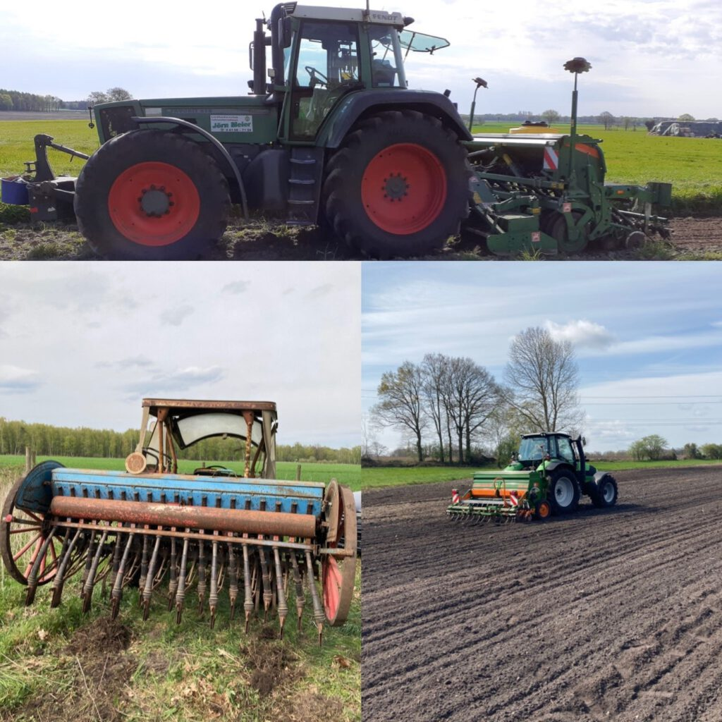 Die Blühwiesen sind angelegt, ein DANKESCHÖN an die landwirtschaftlichen Familienbetriebe!