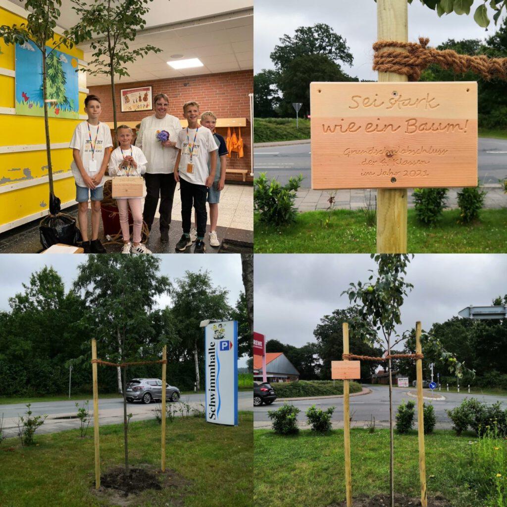 Bäume für die Grundschule Ahlerstedt!!
